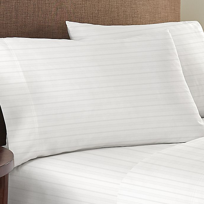 Alternate image 1 for Nestwell™ Egyptian Cotton Sateen Striped 625-Thread-Count Pillowcases (Set of 2)