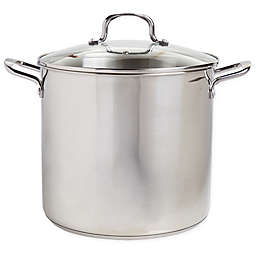 Our Table™ 16 qt. Stainless Steel Covered Stock Pot