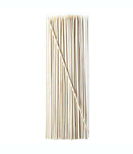 Brochetas desechables Simply Essential™ de bambú, 75 piezas