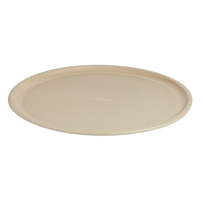 Alternate image 1 for Our Table™ 14-Inch Textured Pizza Pan in Beige