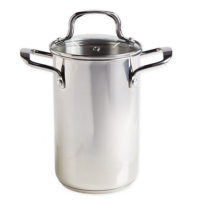 Alternate image 1 for Our Table™ 3.5 qt. Stainless Steel Asparagus Steamer Set