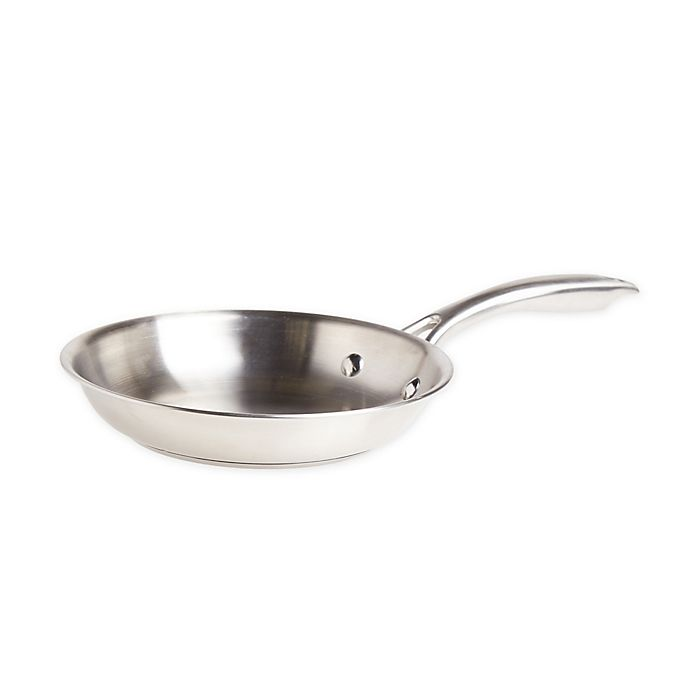 Alternate image 1 for Our Table™ Stainless Steel Fry Pan