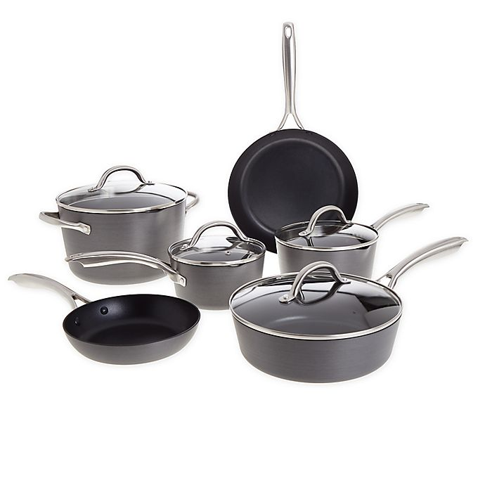 Alternate image 1 for Our Table™ Nonstick Hard Anodized Aluminum Cookware Collection