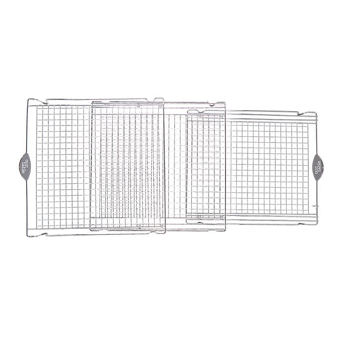 Alternate image 1 for Our Table™ Expandable Cooling Rack in Chrome