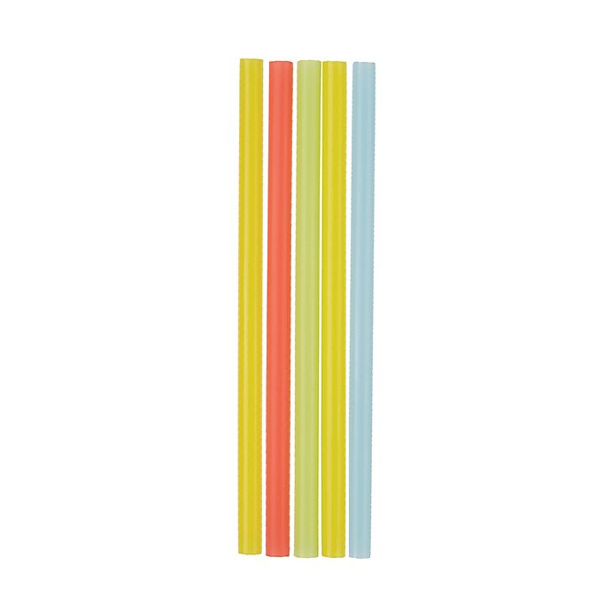 Alternate image 1 for Simply Essential™ 50-Count Extra Wide Plastic Straws