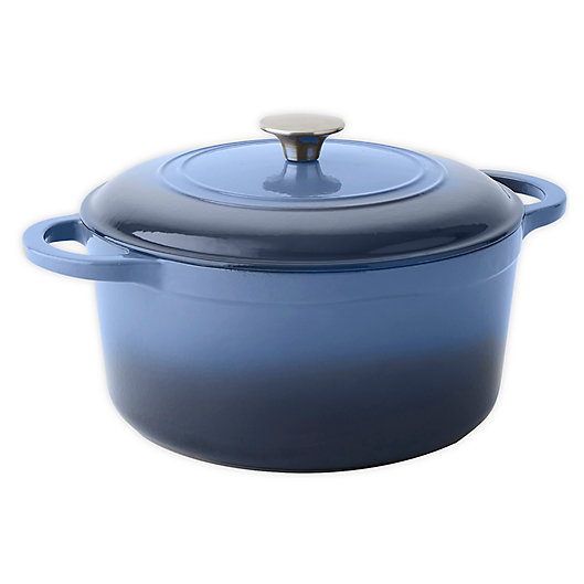 Alternate image 1 for Our Table™ 6 qt. Enameled Cast Iron Dutch Oven