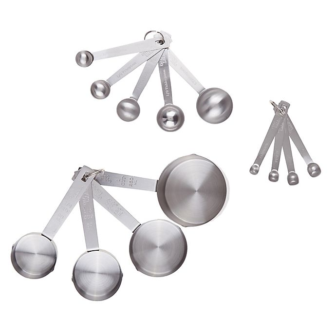 Alternate image 1 for Our Table™ Bakers Dozen 13-Piece Measuring Cups and Spoons Set