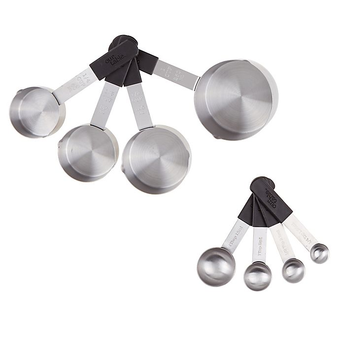 Alternate image 1 for Our Table™ 8-Piece Measuring Cups and Spoons Set