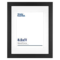 Simply Essential™ Gallery Matted Wood Wall Frame