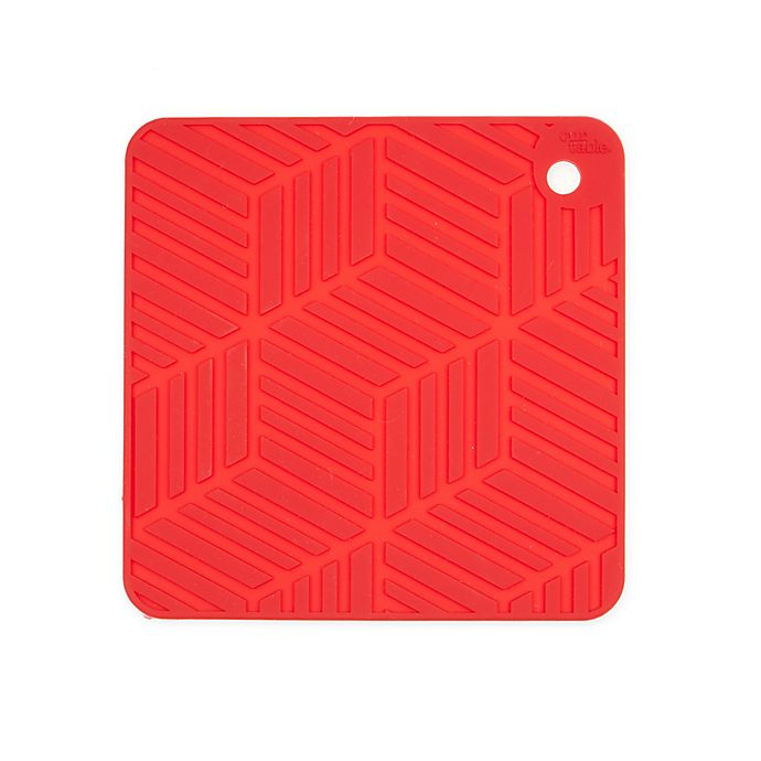 Alternate image 1 for Our Table™ Silicone Textured Trivet