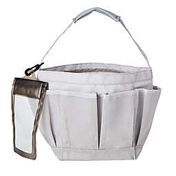 Simply Essential™ Mesh Shower Tote in Grey