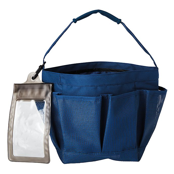 Alternate image 1 for Simply Essential™ Mesh Shower Tote