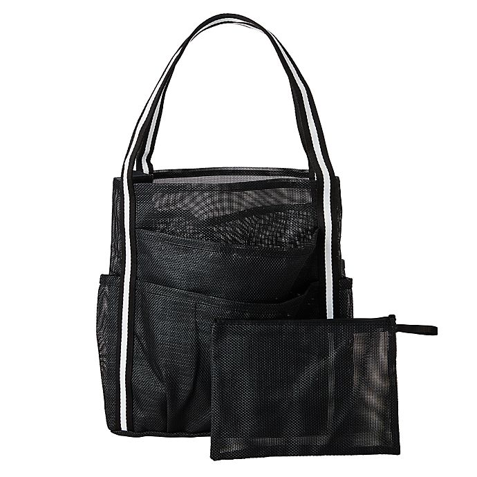 Alternate image 1 for Simply Essential™ Large Mesh Shower Tote