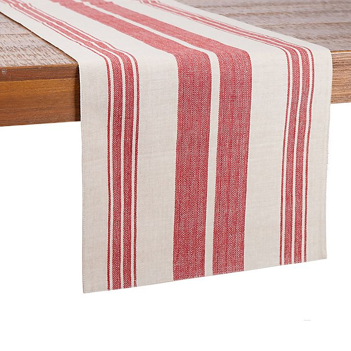 Alternate image 1 for Our Table™ Striped Table Runner