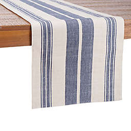 Our Table™ 72-Inch Striped Table Runner in Blue