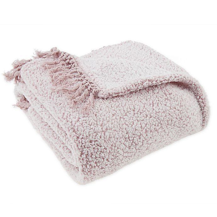 Alternate image 1 for Wild Sage™ Claudia Fleece Throw Blanket in Purple