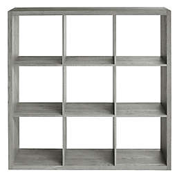 Squared Away™ 9-Cube Organizer in Grey