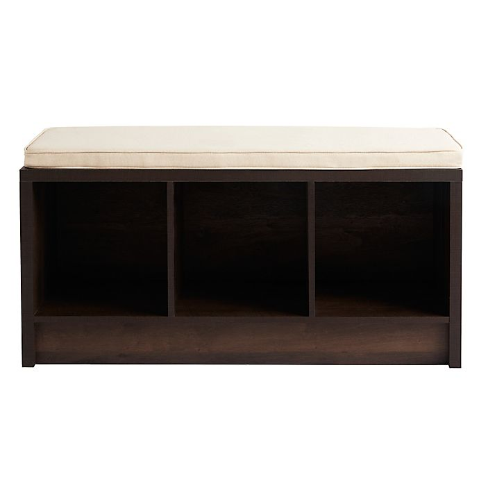 Alternate image 1 for Squared Away™ 3-Cube Storage Bench