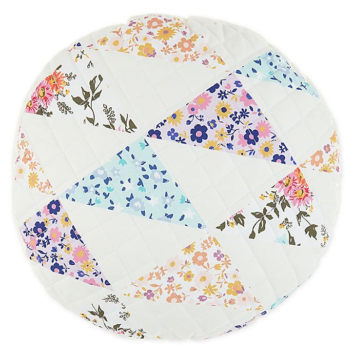 Alternate image 1 for Wild Sage™ Penelope Patchwork Round Throw Pillow
