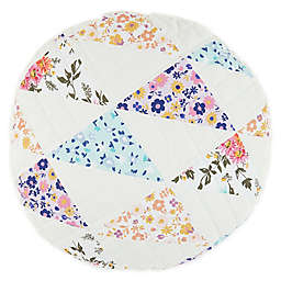 Wild Sage™ Penelope Patchwork Round Throw Pillow