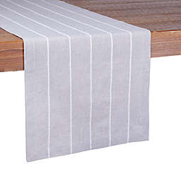 Our Table™ Mini Stripe Table Runner in Grey
