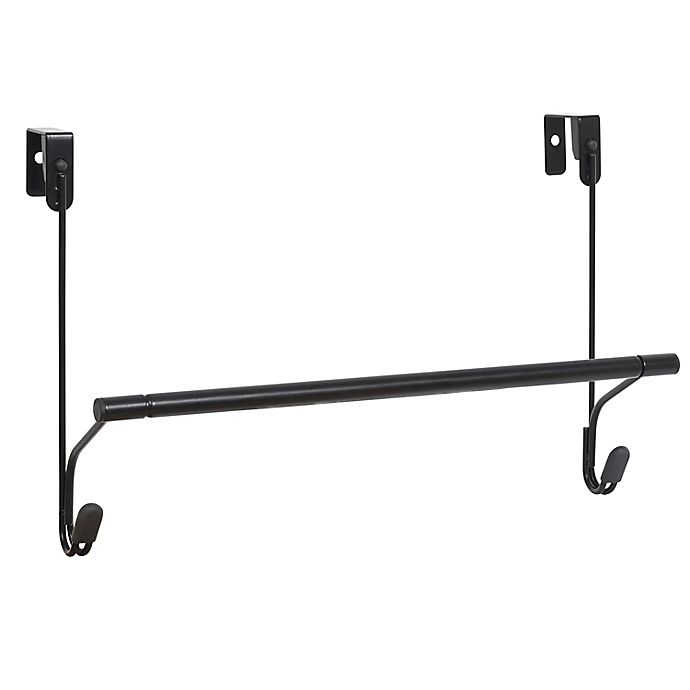 Alternate image 1 for Squared Away™ Over-the-Door Towel Bar