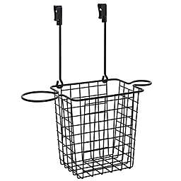 Squared Away™ Over the Cabinet Styling Caddy in Matte Black