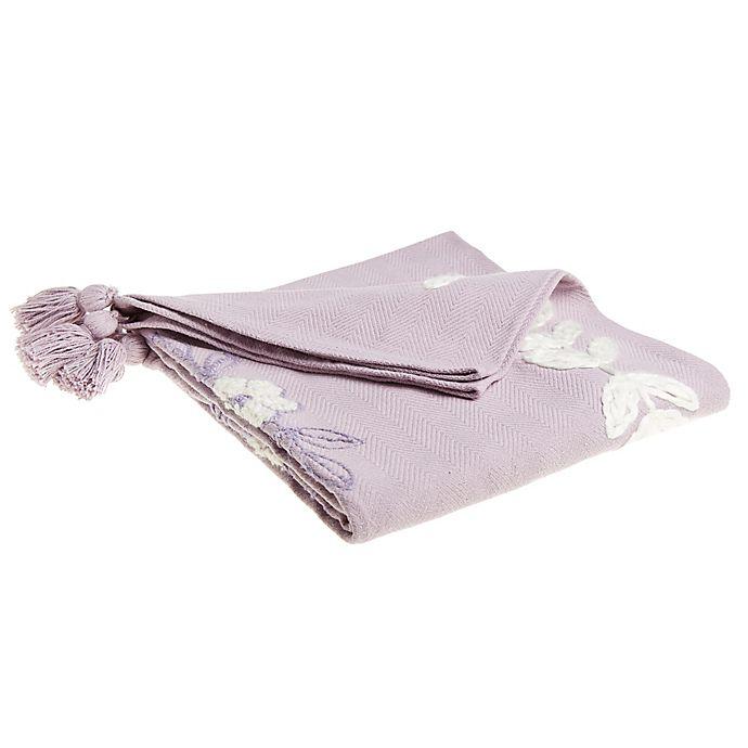Alternate image 1 for Wild Sage™ Lydia Throw Blanket in Purple