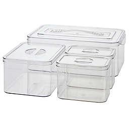 Simply Essential™ Nesting Bath Storage Bins (Set of 4)