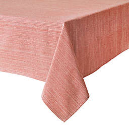 Our Table™ Textured 60-Inch x 84-Inch Oblong Tablecloth in Red