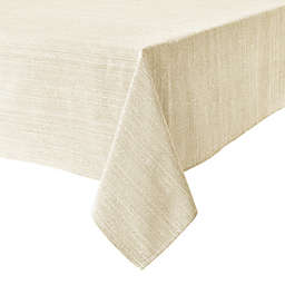 Our Table™ Textured 60-Inch x 84-Inch Oblong Tablecloth in White