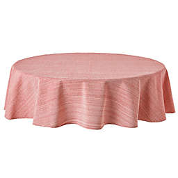Our Table™ Textured 70-Inch Round Tablecloth in Red