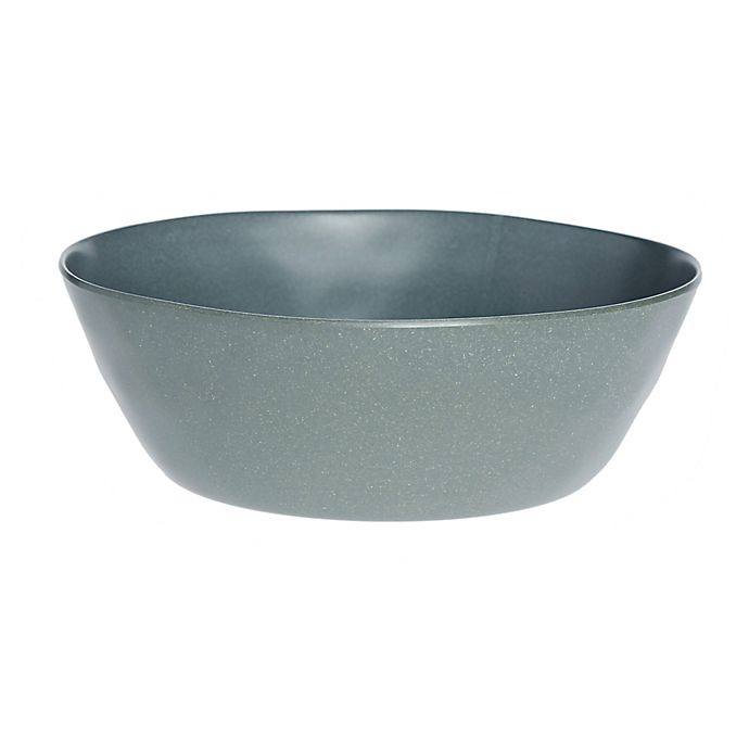 Alternate image 1 for Bee & Willow™ Melamine and Bamboo Salad Bowl in Green