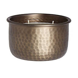 Bee & Willow™ 3-Wick Cardamom Hammered Bowl Candle in Black