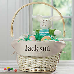 Willow Easter Basket with Drop-Down Handle