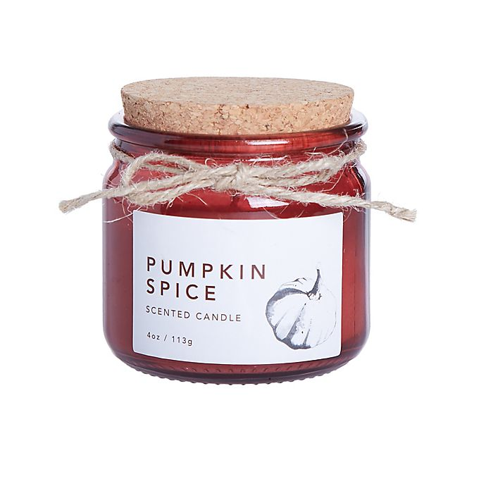 Alternate image 1 for Pumpkin Spice 4 oz. Small Jar Candle
