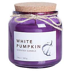 White Pumpkin Large Jar Candle
