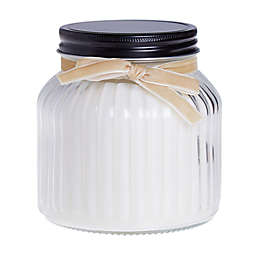 Bee & Willow™ Vanilla Crème 14 oz. Pressed Glass Jar Candle with Lid