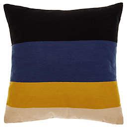 Studio 3B™ Velvet Stripe Square Throw Pillow