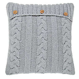Bee & Willow™ Chunky Knit Oblong Throw Pillow in Coconut Milk