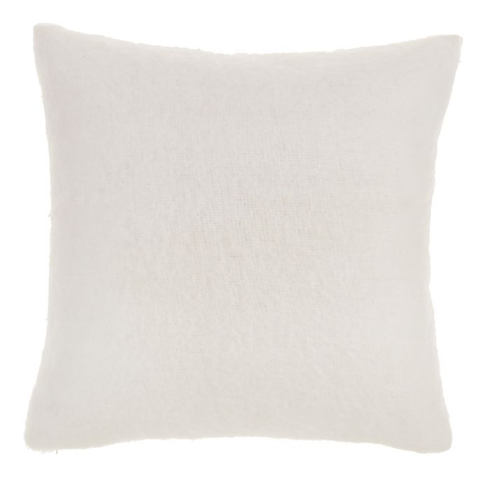 Alternate image 1 for Nestwell™ Faux Mohair Square Throw Pillow