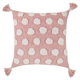 Wild Sage™ Aliyah Square Throw Pillow in Pink