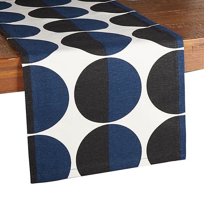 Alternate image 1 for Studio 3B™ Two-Tone Circle Runner in Blue/Black