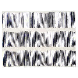 Studio 3B™ Sketched Lines Placemat in Navy/White