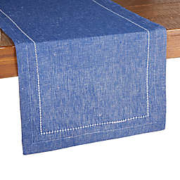 Our Table™ Hemstitch Table Runner in Sodalite Blue