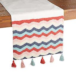 Wild Sage™ Mady Rainbow Crochet Table Runner