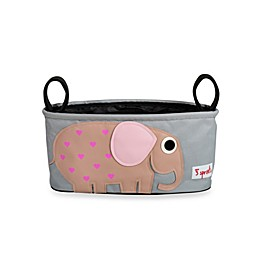 3 Sprouts Stroller Organizer in Elephant