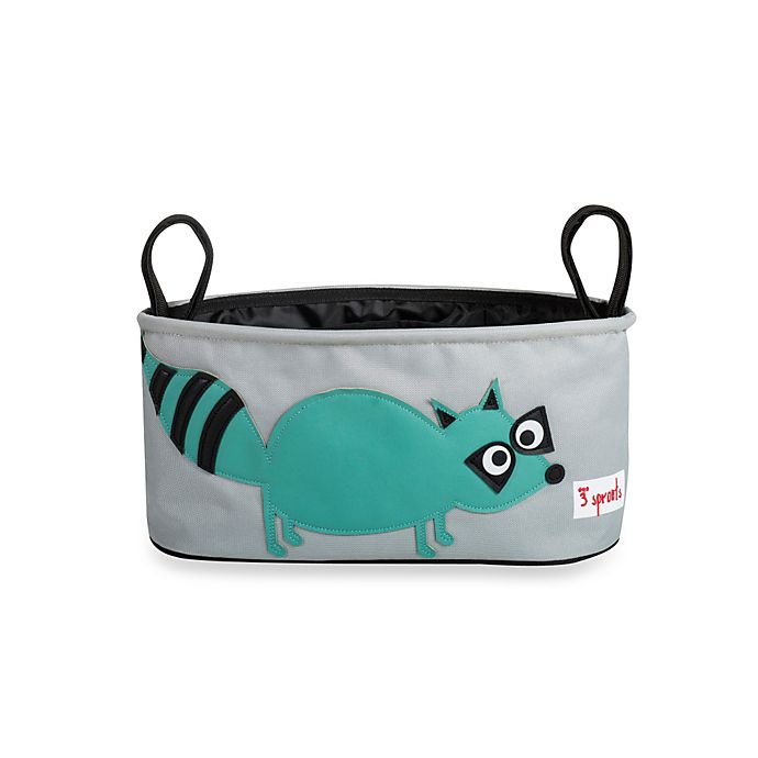 Alternate image 1 for 3 Sprouts Stroller Organizer in Racoon