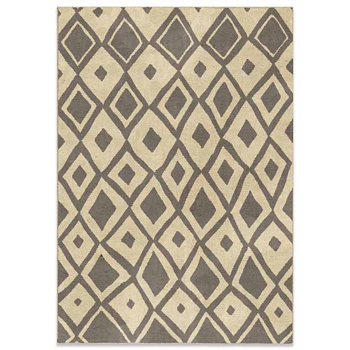 Bed Bath And Beyond Area Rugs Roselawnlutheran Earth Tone: Aria Rugs Utopia Collection Larco Gray Rug