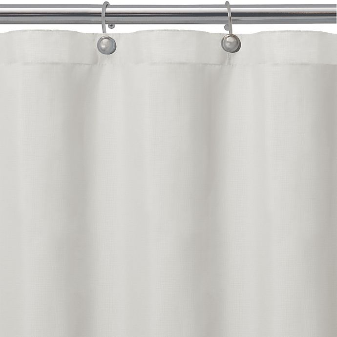 Microfiber Towels Bed Bath And Beyond: Buy Matthew Textured Microfiber Shower Curtain Liner In